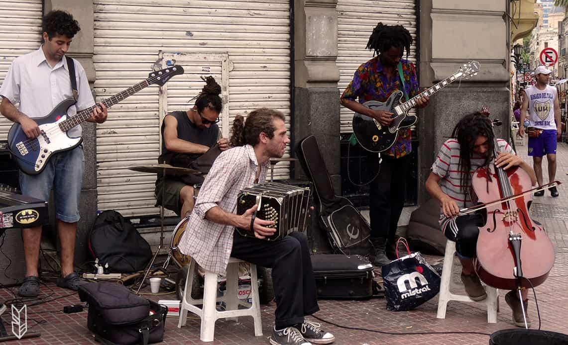 La musique de rue - Buenos Aires