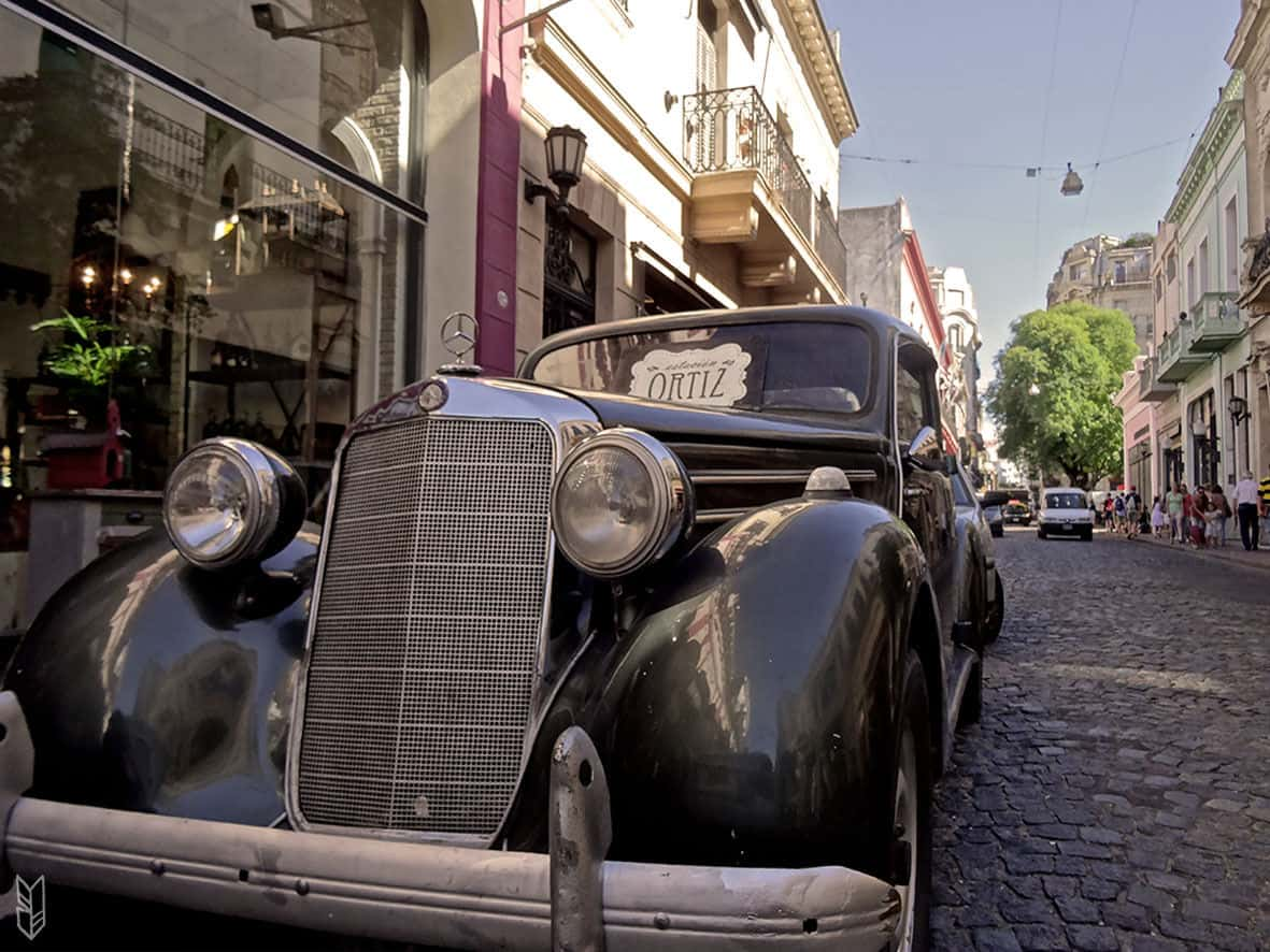 les rues de San Telmo- Buenos Aires