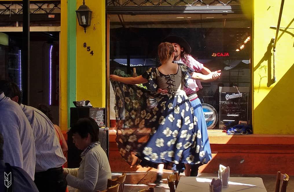 le folklore argentin